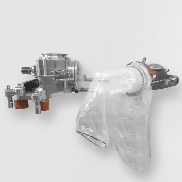 Magnetabscheider mit Handlingsystem & Folienbeutel